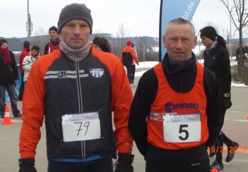 Die Wernberger Läufer beim Winterlaufchallenge