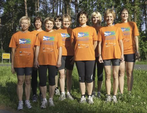 Landkreislauf Schwandorf 2009 Frauenteam