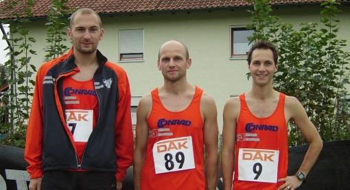 Stefan Pirker, Albert Most und Marco Scherl