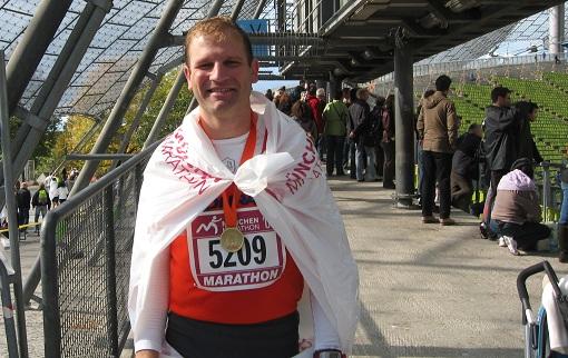 Zielfoto München Marathon