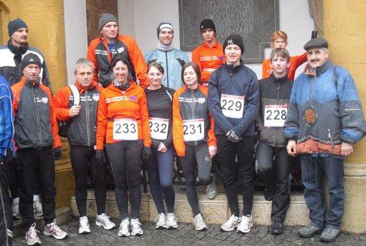 Teambild Sivesterlauf 2009